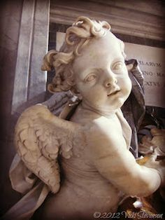 Angel ~ St. Peter's Cathedral (Vatican) Homespun Hugs and Calico Kisses