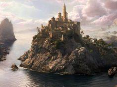 Free Images Online: Creative 3D Fantasy Castle Picture