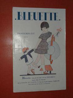 CATALOGUE POUPÉE BLEUETTE PRINTEMPS-ÉTÉ 1924 in Livres, BD, revues, Livres anciens, recherchés | eBay