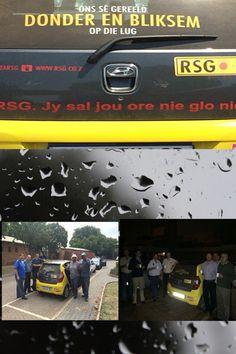 #RSG sê gereeld Donder en Bliksem op die lug – hoe dan nou anders?  #RSG het weervoorspellings en nuusprogramme elke uur.  En dan's daar natuurlik musiek vir elke smaak.  So skakel in op #RSG en Jy sal jou ore nie glo nie.#RSG dis die een!!! En ek Nelius Leimecke en julle my vriende is nou ook deel van die #RSG familie.
