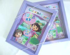 Kit Colorir em Caixa - Dora Aventureira www.brindbrink.com