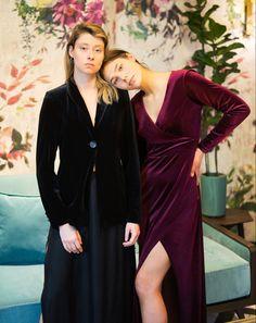 Velvet, Dresses With Sleeves, Dreams, Blazer, Long Sleeve, Fashion, Moda, Sleeve Dresses, Long Dress Patterns