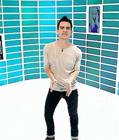 """Brendon Urie on fuze """"oh Mickey you're so fine"""" :D"""