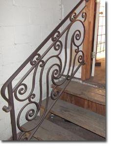 Houston TX custom wrought iron railings Raleigh Wrought Iron Co.