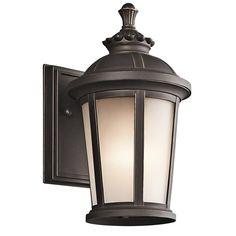 Kichler Lighting 49409RZ Ralston 1 Light 11 inch Rubbed Bronze Outdoor Wall Lantern