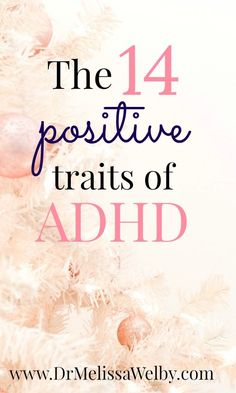 The benefits of ADHD exist. Many people with ADHD flourish despite challenges. There are positive traits of ADHD. Enhance them with these 14 ADHD benefits! Adhd Facts, Adhd Signs, Adhd Help, Positive Traits, Adhd Brain, Adhd Diet, Adhd Strategies, Adhd Symptoms, Adhd And Autism