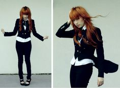 Outfit (Edgy Women Suit Look)