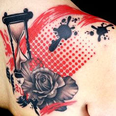 Check out this high res photo of Katie McGowan's tattoo from the Trash Polka episode of Ink Master on Spike.com.