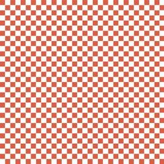 Maude Asbury - Ribs and Bibs - Checkerboard in Red