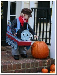 Thomas the train costume tutorial