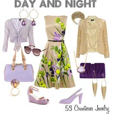 """""""Day and Night"""" by countess-flower on Polyvore  www.53countesses.blogspot.com"""