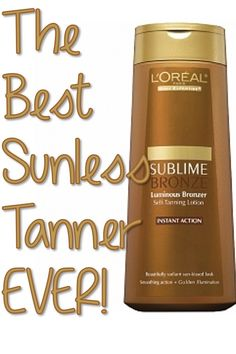 The BEST Sunless Tanner EVER -  From a girl who has tried them ALL! (Maybe it is.  Someone pinned this and I am passing it along, not having tried this product.  But I do have very white legs and no time to get to the beach this summer, so I may very well give it a whirl.)