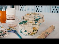 How to Make Reusable Wax Wrap Food Covers - YouTube