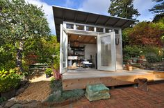 Pottery Studio 10x12: Studio Shed Lifestyle Line - modern - garage and shed - other metro - by Studio Shed