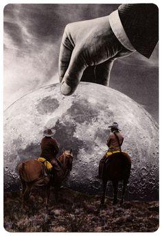 Y Dios puso frente a nosotros a la luna del lobo para que no pudiéramos ver las planicies y renunciáramos a la persecución bíblica.