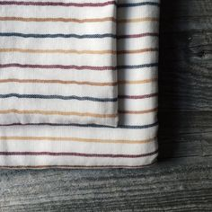 Introducing our BDR Shirt Stripe towel. One of thirteen designs in our Shirt Stripe collection.