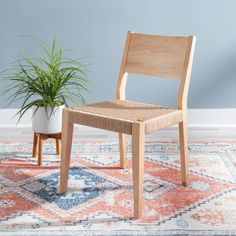 Cadence Dining Chair Natural - set of 2