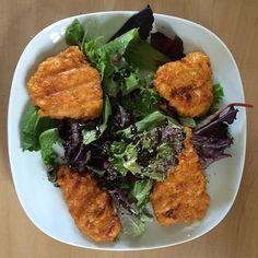 Chicken-Nuggets im Mandelmantel - Kalinkas Blog