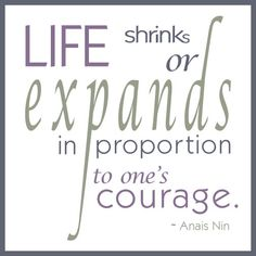 anais quotes courage - Google Search