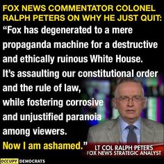 Fox News is helping trump Keep Americans Divided via Lies & Hate. It's Disgraceful they've been able to Throw Propaganda Out There For as long as they have. Political Quotes, Thats The Way, Republican Party, We The People, Good To Know, Facts, Shit Happens, Thoughts, Sayings