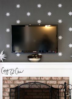 Copy Cat Chic: Silhouette Cameo and a Family Room Update