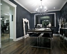 Modern Media Room Design, Pictures, Remodel, Decor and Ideas - page 6