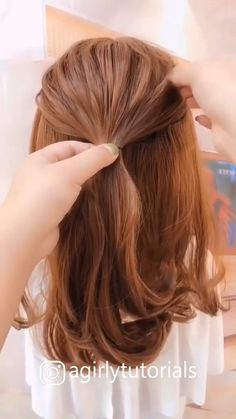 hairstyles drawing easy, hairstyles kid girl, cute hairstyles for girls, medium length hairstyles 2019 for over s hairstyles 2019 for older what hairstyles say about a man, short hairstyles 2019 woman in thier Easy Hairstyles For Long Hair, Up Hairstyles, Simple Everyday Hairstyles, Simple Hair Updos, Easy Ponytail Hairstyles, Easy Hairstyles For Work, Easy Hair Up, Easy Vintage Hairstyles, Easy Updos For Medium Hair