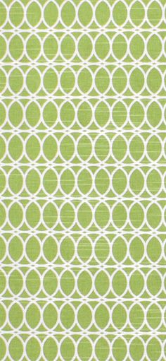 HGTV Curl Up Citrine Fabric #green #geometric