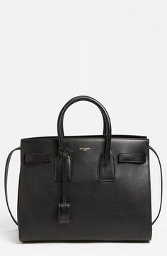 Saint Laurent 'Sac de Jour - Small' Leather Tote available at Philip Lim, Hermes Birkin, My Bags, Purses And Bags, Balenciaga, Saint Laurent, Beautiful Handbags, Beautiful Bags, New Bag