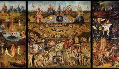 히에로니무스 보스, 쾌락의 동산, 프라도미술관