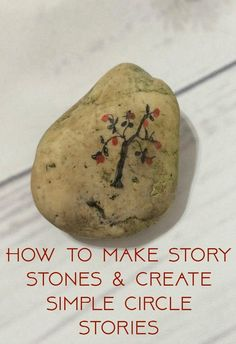 How to make story stones. here is a super simple nature craft along with ideas…