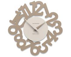 Kitchen wall clock Mat caffelatte