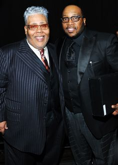 Marvin Sapp Rance Allen and Marvin Sapp attend the 28th Annual Stellar ...