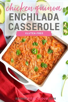 A wholesome, low sugar casserole packed with protein and flavor. Super easy to make ahead of time and family approved! Healthy Casserole Recipes, Healthy Gluten Free Recipes, Sugar Free Recipes, Healthy Chicken Recipes, Snack Recipes, Best Weight Loss Foods, Weight Loss Snacks, Healthy Low Calorie Meals, Low Calorie Recipes