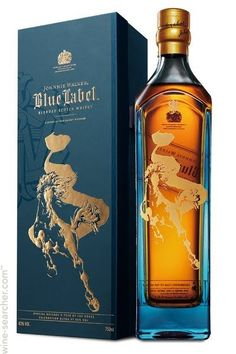 Johnnie Walker Blue Label Limited Edition Year of the Horse Blended Scotch Whisky, Scotland label
