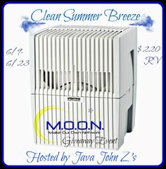 Make Our Own Network - Air washer giveaway, allergen reduction clean air