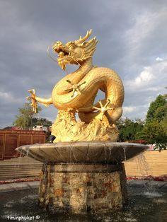 Chinese Dragon in Phuket Town