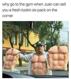 49 Fresh AF dank memes to get you through Thursday - Gallery Memes Estúpidos, Funny Memes, Hilarious, Jokes, Gym Memes, Funniest Memes, Bodybuilding Supplements, Bodybuilding Fitness, Six Packs