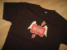 Dan Savage Tee - LGBT Newspaper Gay Love Live Anchorage AK 2009  T Shirt Medium #DanSavageLoveLiveAnchorageAlaska2007 #GraphicTee