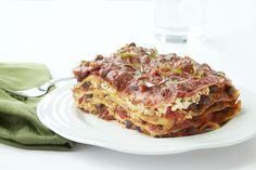 Cheeseless  Black Bean Lasagna - GoodHousekeeping.com