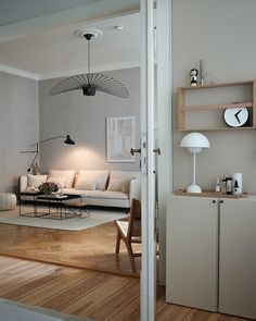 my scandinavian home: Get The Look From A Serene Family Home in Berlin Living Room Bedroom, Diy Bedroom Decor, Home Decor, Scandinavian Style, Berlin Apartment, Minimal Home, Lounge, Modern Decor, Decor Styles