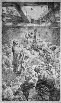#55 Paralytic at Capernaum (type: miracle, Matthew 09:01–08, Mark 02:01–12, Luke 05:17–26)