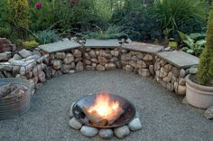 gabion basket for seating - Google Search Would be great by the River.
