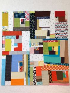 Quilt from class with Denyse Schmidt by Fittin to Quilt, via Flickr