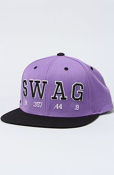 The Swag Snapback in Purple OS