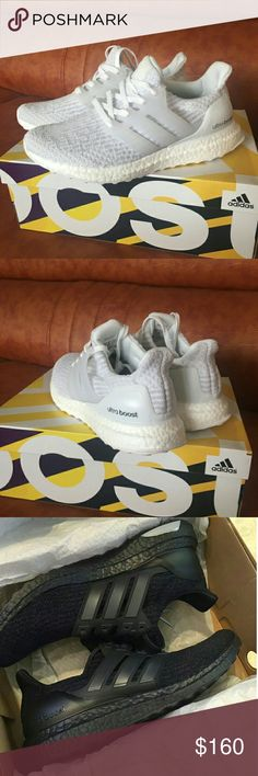 finest selection 27434 13890 Adidas ultra boost ub 3.0 black white men women Size 5-11  Color