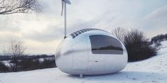 Ecocapsule Is a Solar-Powered Portable Dwelling