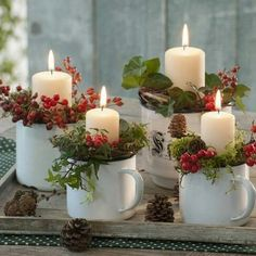 Most people have laminate parquet or a stone floor. Do you want to . - Kerzen Dekorieren - New epoxy web Christmas Advent Wreath, Christmas Candle Decorations, Advent Candles, Christmas Candles, Rustic Christmas, Christmas Holidays, Christmas Crafts, Diy Christmas Arrangements, Christmas Lights