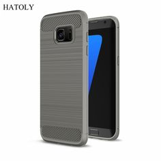 Case For Samsung Galaxy S7 Cover Shockproof Soft Rubber & TPU For Samsung Galaxy S7 Case For Samsung S7 G9300 Mobile Phone Bag