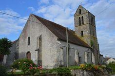 Eglise Saint-Vincent te Ichy (Seine-et-Marne 77)